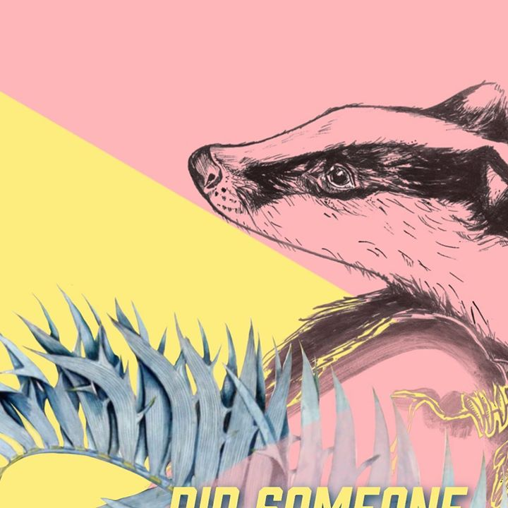 picture of Badger-Mustelidae-Sketch-Drawing-Illustration-Fictional character-Carnivore-Ferret-Art-24985-67169