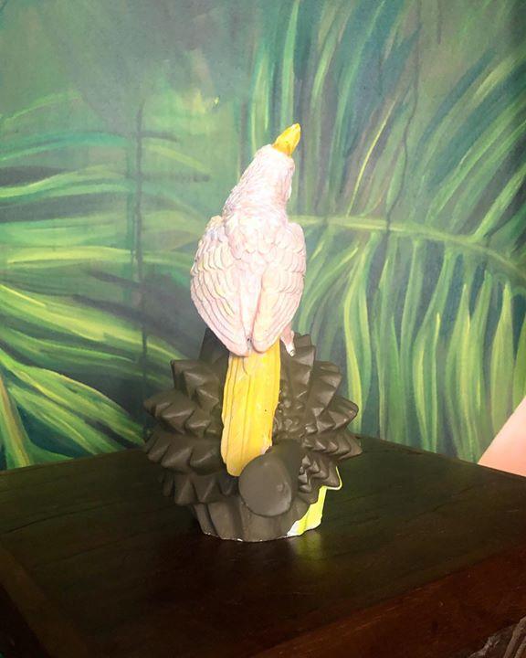 picture of Bird-Cockatoo-Parrot-Cockatiel-Beak-Sulphur-crested cockatoo-Feather-Wing-Carving-41517-51489
