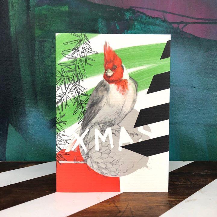 picture of Cardinal-Bird-Rectangle-Beak-Perching bird-Art----29098-86300