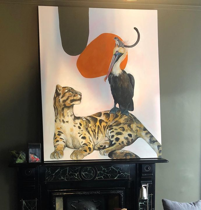 picture of Cat-Felidae-Small to medium-sized cats-Room-Interior design-Furniture-Carnivore-Lighting accessory-Lampshade-1364924363668712