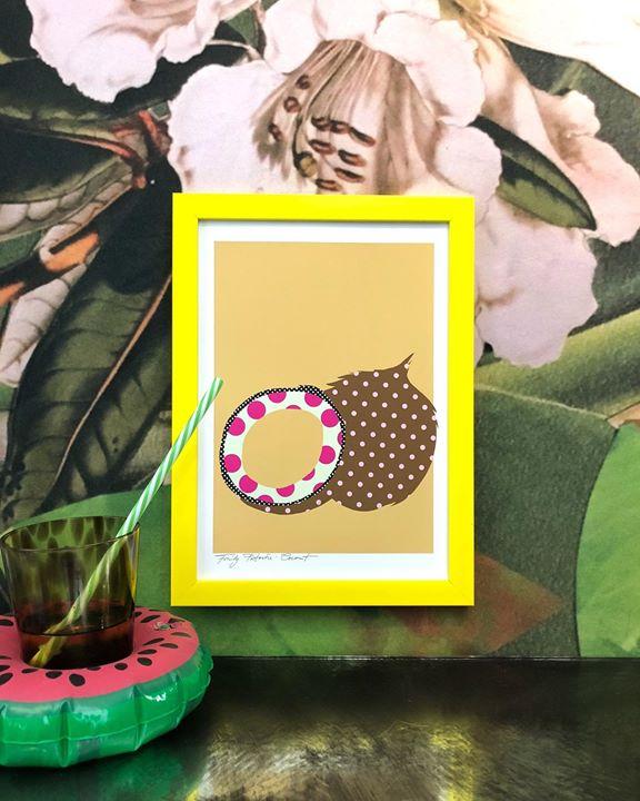 picture of Design-Illustration-Plant-Pattern-Picture frame-Art----1497904283704052