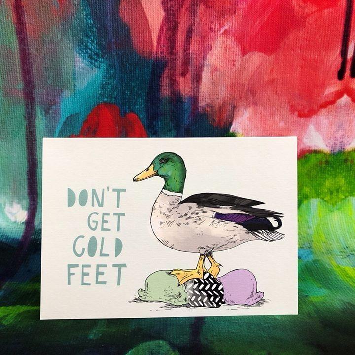 picture of Duck-Bird-Water bird-Mallard-Ducks, geese and swans-Waterfowl-Illustration-Art-Adaptation-47542-98633