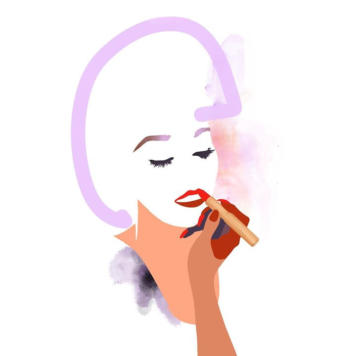 picture of Face-Nose-Cartoon-Lip-Beauty-Illustration-Cheek-Smoking-Art-1567293853431761