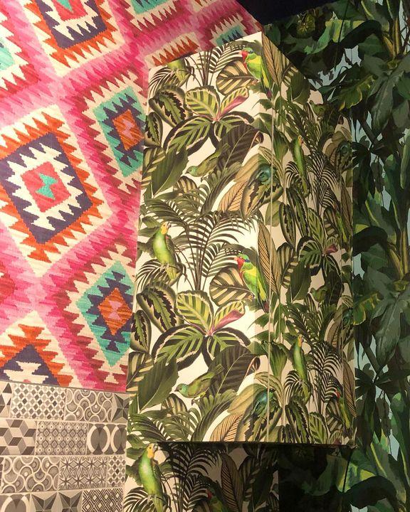 picture of Flower-Plant-Textile-Terrestrial plant-Art-Creative arts-Rectangle-Motif-Pattern-1903179393176537