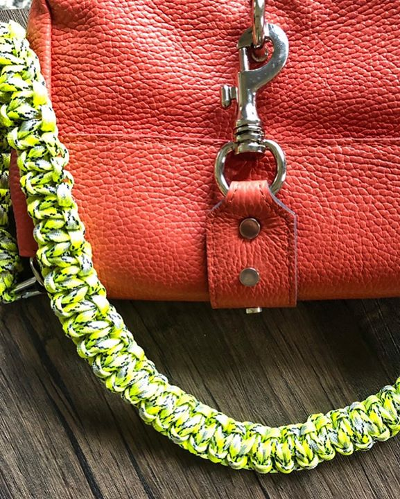 picture of Green-Fashion accessory-Jewellery-Bag-Chain-Dog collar-Handbag-Collar-Leather-1216724435155373