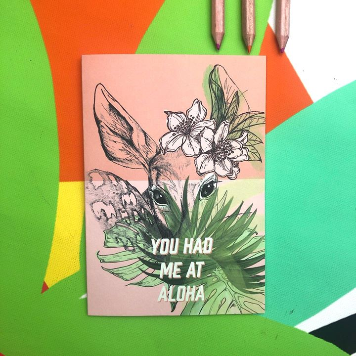 picture of Green-Illustration-Botany-Plant-Graphic design-Paper-Flower-Drawing-Art-1487990934695387