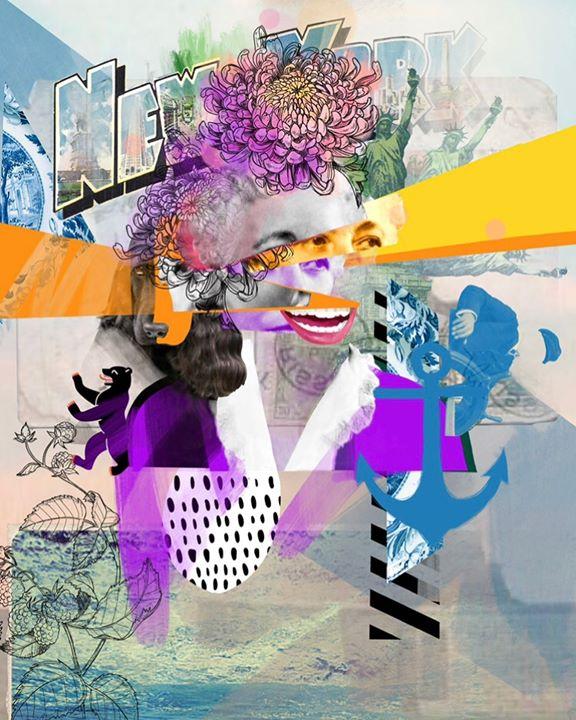 picture of Illustration-Art-Graphic design-Violet-Purple-Visual arts-Modern art-Plant-Style-33307-94965