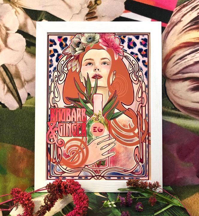 picture of Illustration-Art-Poster-Plant-Flower-Painting-Floral design---33136-115343