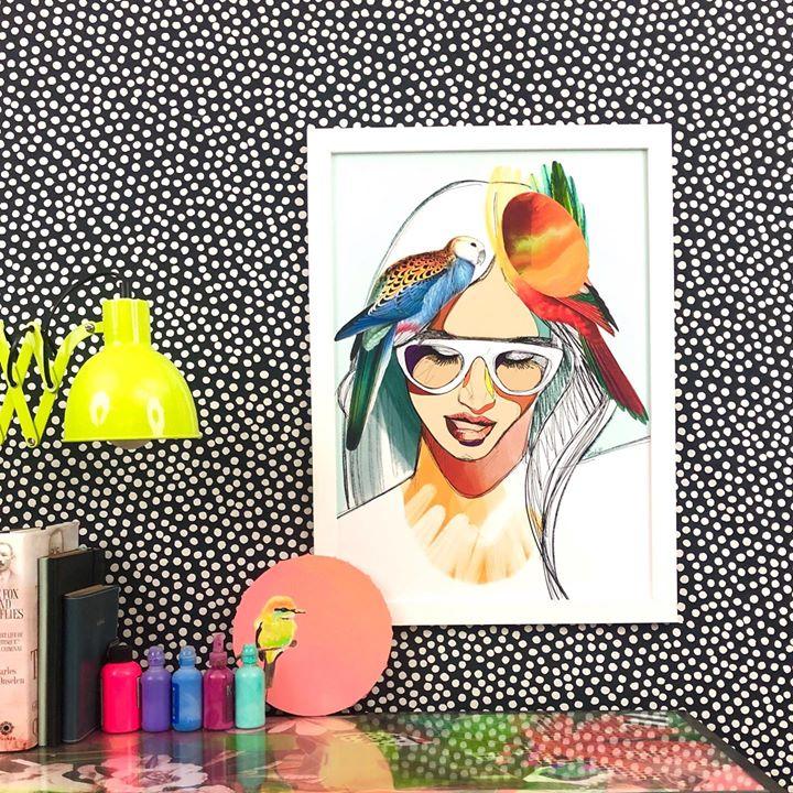 picture of Illustration-Cartoon-Art-Graphic design-Fashion illustration-Eyewear-Modern art-Style-Painting-1457451624415985