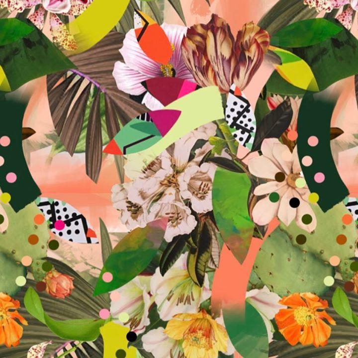 picture of Leaf-Illustration-Pattern-Spring-Design-Plant-Flower-Wildflower-Graphic design-1212412082253275