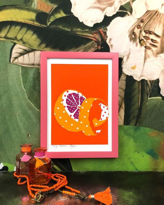 picture of Orange-Leaf-Adaptation-Illustration-Plant-Art----1497904283704052