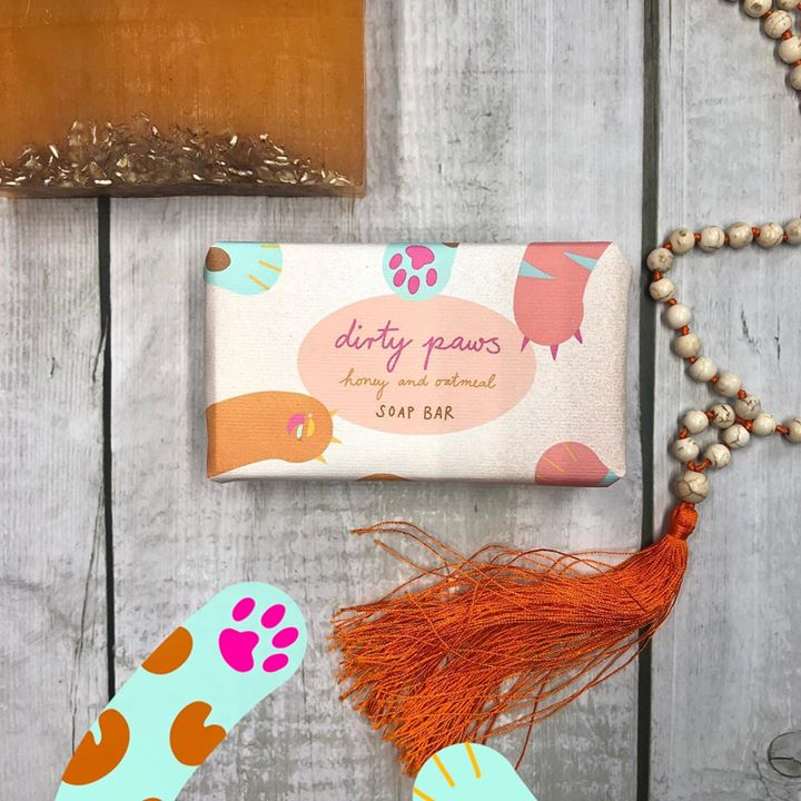 picture of Orange-Text-Pink-Font-Design-Wood-Pattern-Fawn-Fashion accessory-1640147169479762