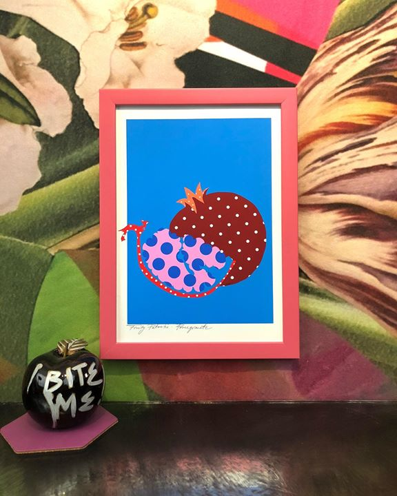 picture of Organism-Illustration-Picture frame-Turtle-Pattern-Fruit----1497904283704052
