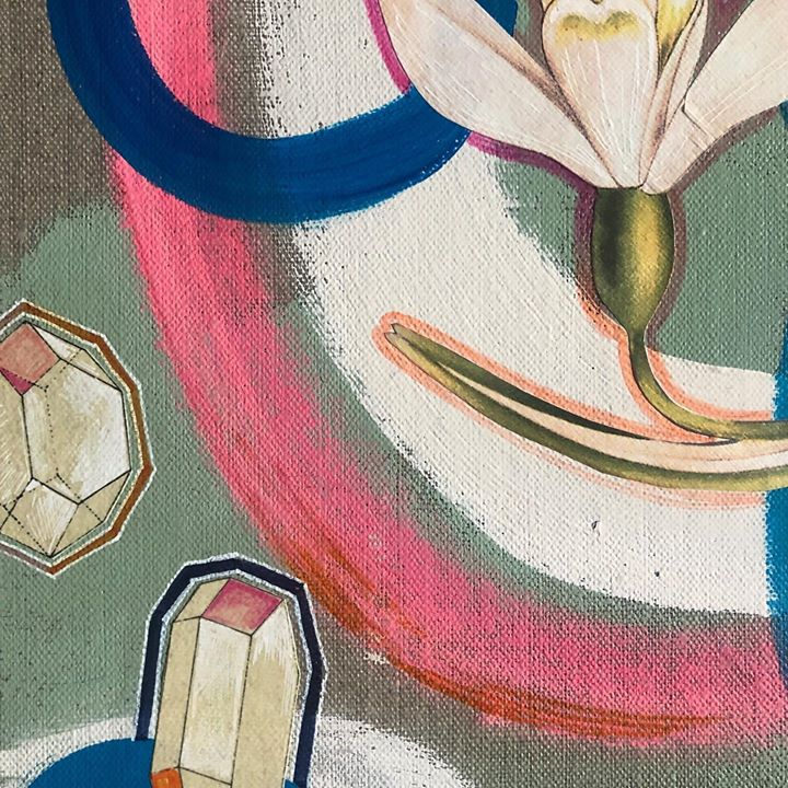 picture of Painting-Art-Illustration-Textile-Watercolor paint-Still life-Modern art-Visual arts-Drawing-53644-148824