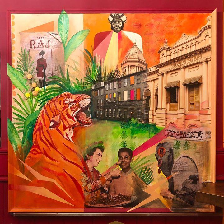 picture of Painting-Art-Poster-Modern art-Illustration-Visual arts-Guru-Mural--1293087930852356
