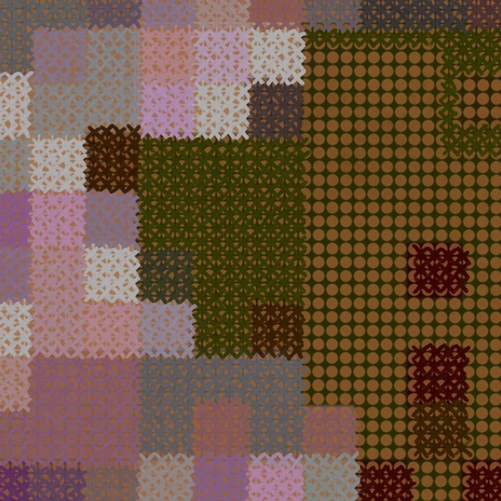picture of Pattern-Brown-Purple-Textile-Pink-Patchwork-Pattern-Design-Line-37072-99084