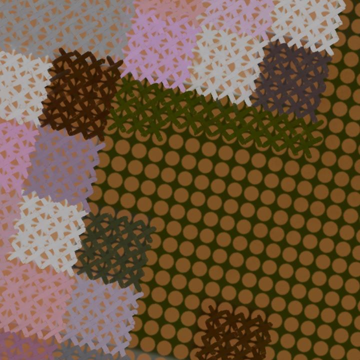 picture of Pattern-Green-Brown-Needlework-Woven fabric-Textile-Design-Pattern-Crochet-37072-81927
