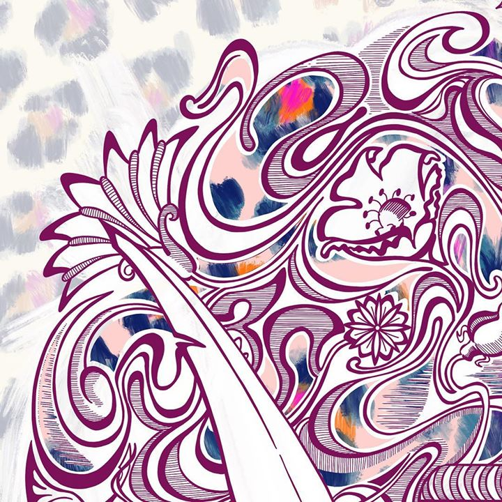 picture of Pattern-Visual arts-Design-Graphic design-Motif-Art-Psychedelic art-Textile-Illustration-1214734432021040