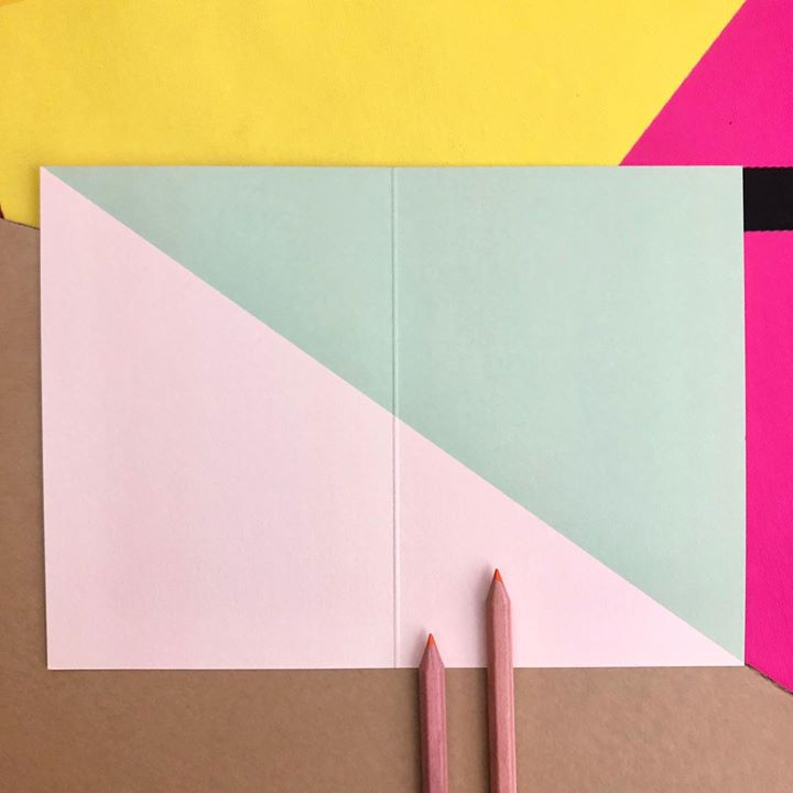 picture of Pink-Construction paper-Paper-Art paper-Paper product-Envelope-Stationery-Line-Rectangle-33207-32370