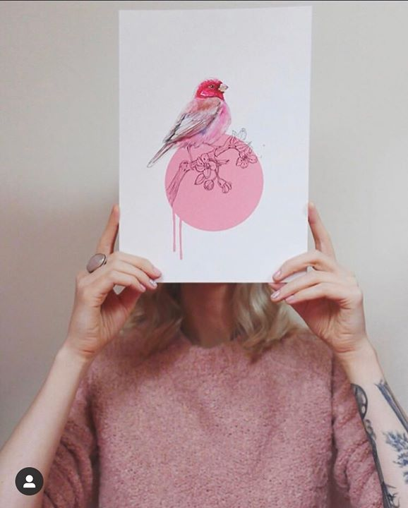picture of Pink-Illustration-Hand-Finger-Paper-Peach-Room-Textile-Nail-32121-41194