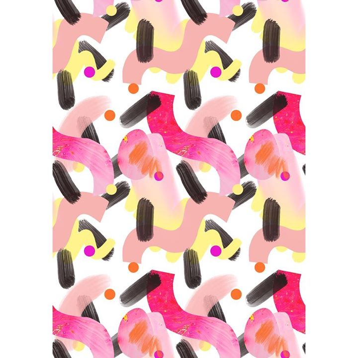 picture of Pink-Pattern-Textile-Mobile phone case-Shower curtain-Wrapping paper----29320-66923