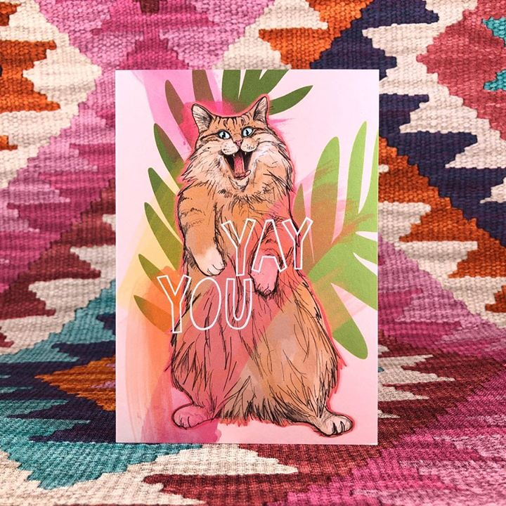 picture of Pink-Textile-Art-Illustration-Fictional character-Pattern-Rabbit-Fawn-Pattern-1520081824819631