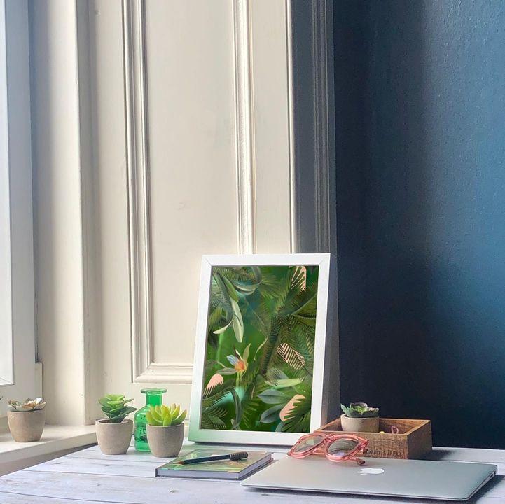 picture of Plant-Flower-Property-Window-Houseplant-Textile-Interior design-Rectangle-Flowerpot-1880890508738759