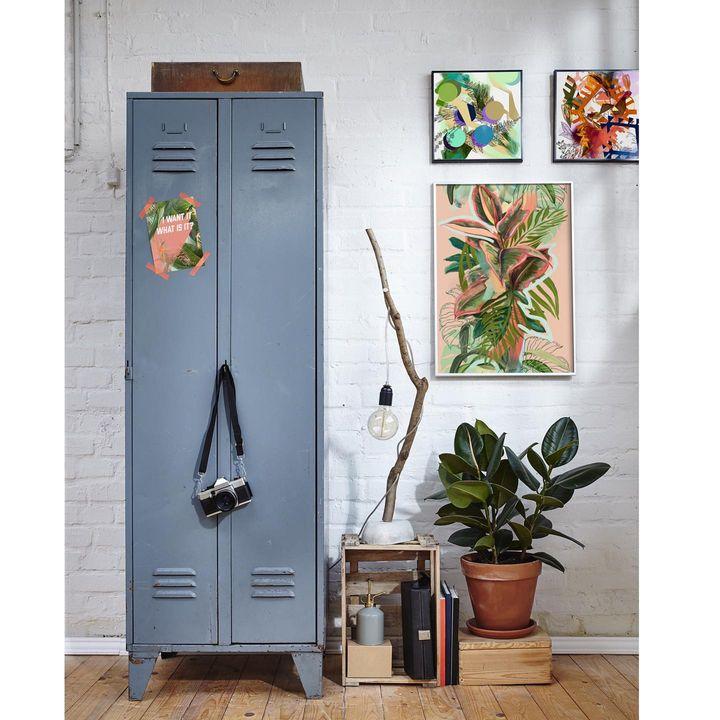 picture of Plant-Flowerpot-Leaf-Houseplant-Door-Wood-Terrestrial plant-Wall-Handle-1840941556066988