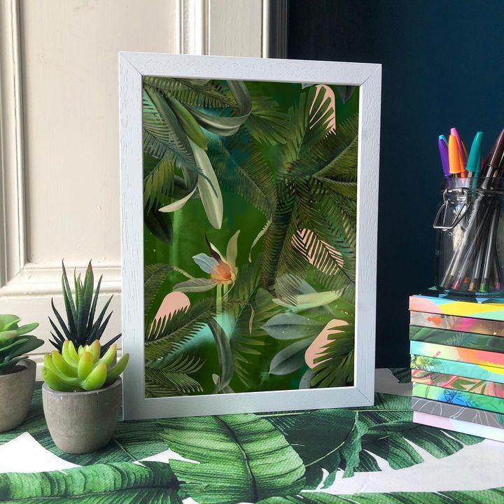 picture of Plant-Green-Rectangle-Textile-Interior design-Terrestrial plant-Flowerpot-Organism-Houseplant-1880890512072092