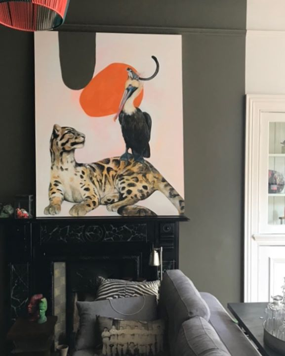 picture of Room-Felidae-Cat-Interior design-Furniture-Lampshade-Small to medium-sized cats-Lighting accessory--1420091614818653