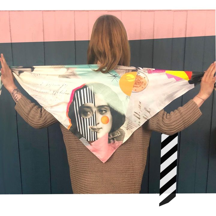 picture of Textile-Orange-Sleeve-Street fashion-Pink-Sportswear-Font-T-shirt-Pattern-1833463913481419