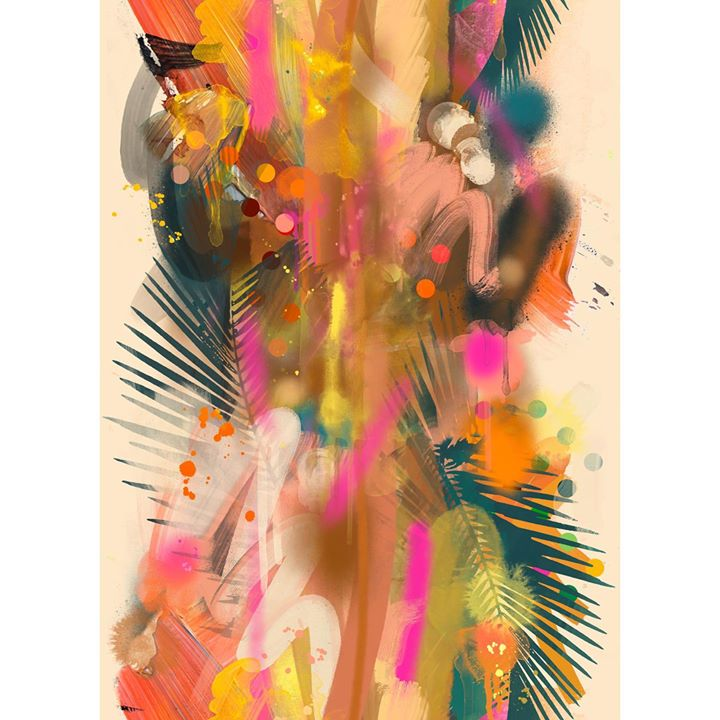 picture of Textile-Painting-Modern art-------1622328067928339