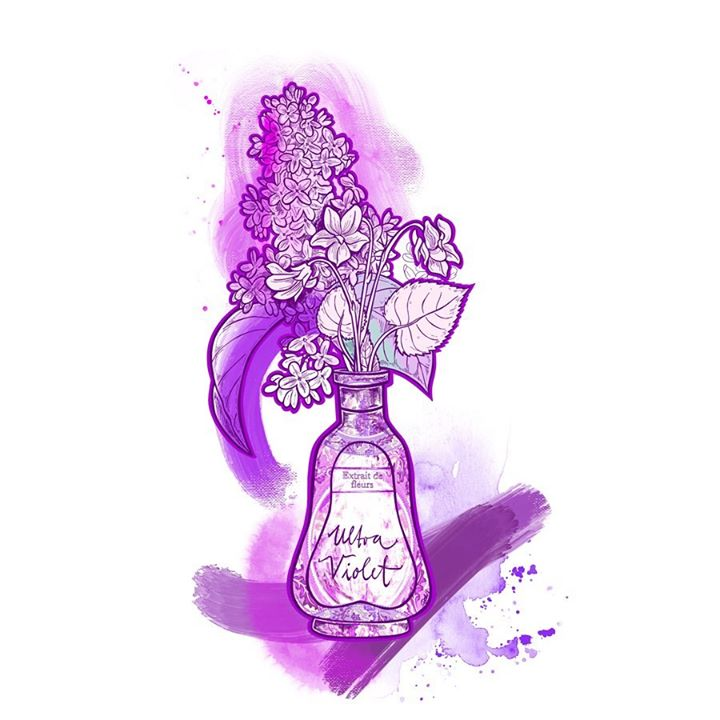 picture of Violet-Purple-Magenta-Drawing-Graphics-Fictional character-Illustration---1569984283162718